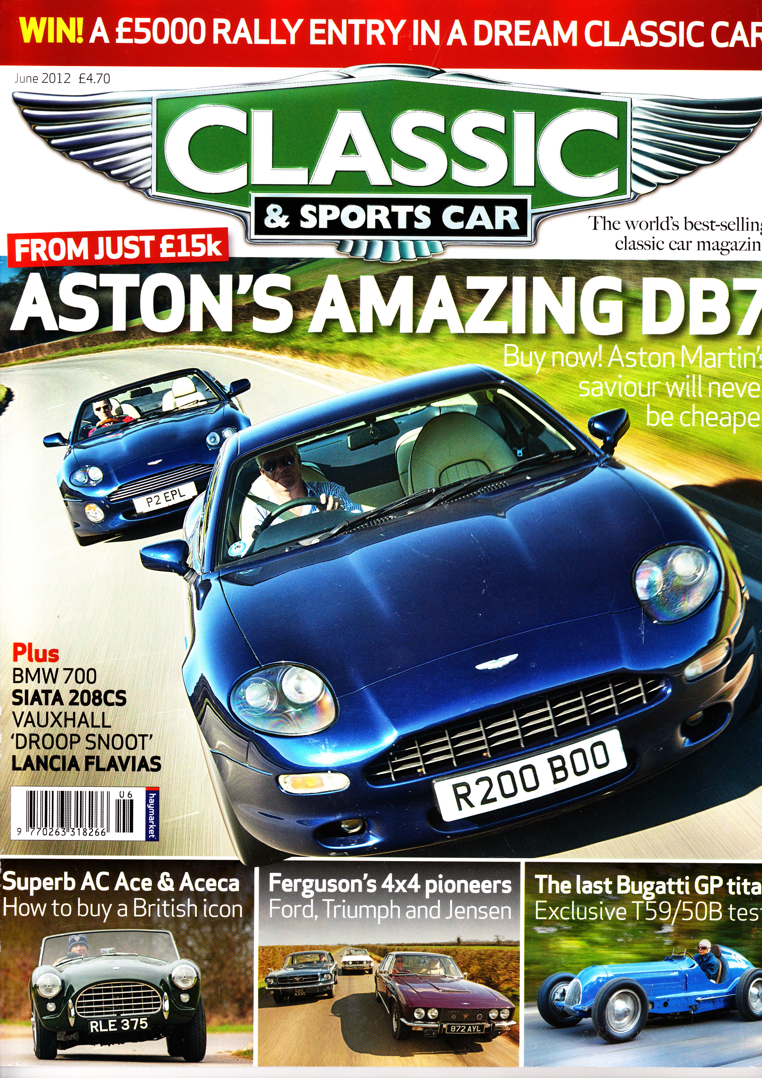 Alfa Img Showing Classic Car Magazine Covers